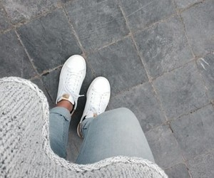 adidas, denim, and sweater image