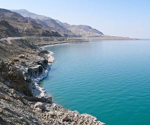 location, sea, and dead sea image