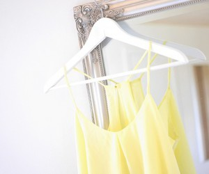 fashion, yellow, and top image