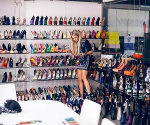 bedrooms, girls, and lots of shoes image