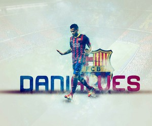 alves, Barca, and Barcelona image