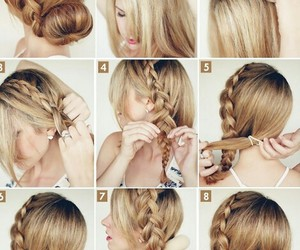 hair, hairstyles, and step image
