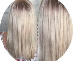 blonde hair image