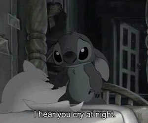 cry, dark, and lilo and stitch image