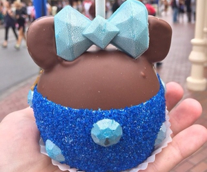 disney, food, and minnie mouse image
