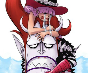 one piece, perona, and moria image