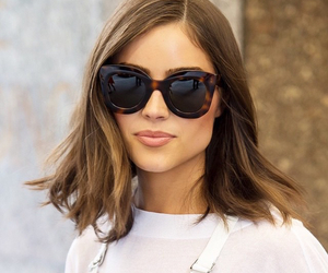 fashion, sunglasses, and girl image