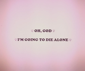 quote, marina and the diamonds, and alone image