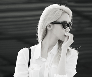 black and white, kpop, and pretty image