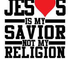 jesus, religion, and savior image
