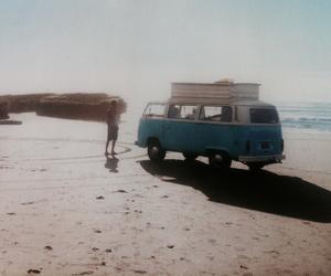 beach, car, and free image