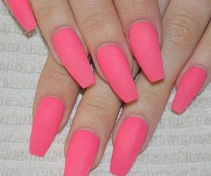 nails, love them, and pink image