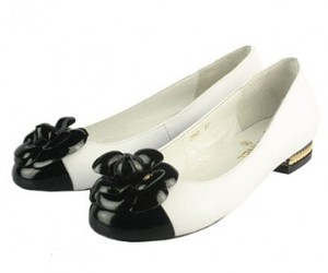 chanel flat shoes, cheap chanel shoes, and chanel flats on sale image