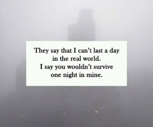 quote, grunge, and night image