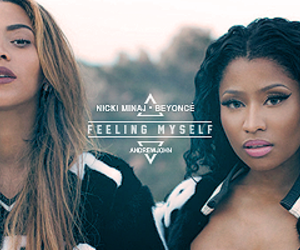 beyoncé and nicki minaj image