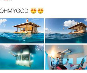house, water, and amazing image