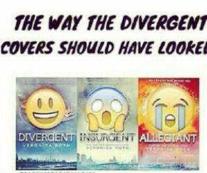 divergent, books, and insurgent image