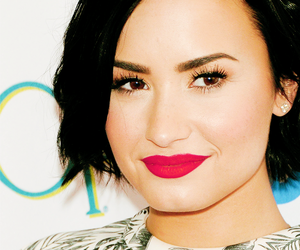 beautiful, girl, and demi lovato image