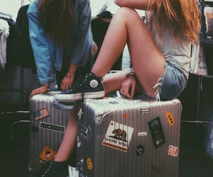 best friends, travel, and bffs image