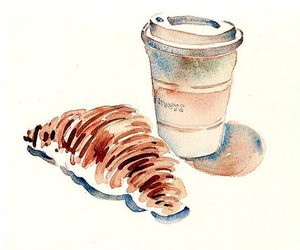 draw and coffee image