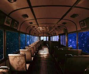 bus and space image