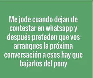 frases, pony, and whatsapp image