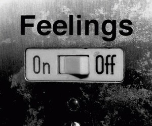 feelings, off, and on image