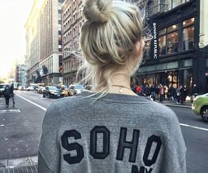 girl, hair, and soho image