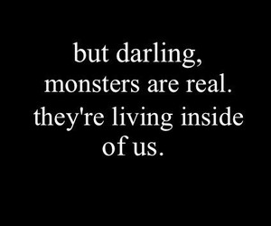 monster, quotes, and darling image