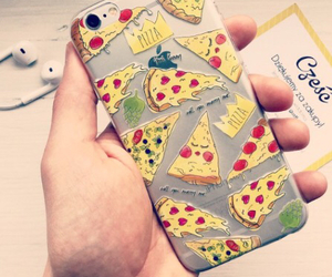pizza, case, and cover image