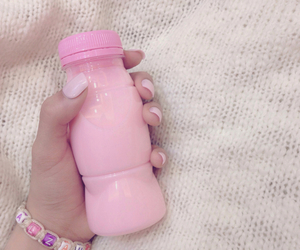 pink and milk image