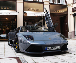 car, luxury, and gucci image
