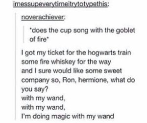 book, goblet of fire, and harry potter image