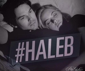pll, haleb, and pretty little liars image