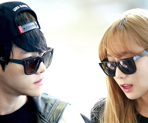 airport, asian, and couple image