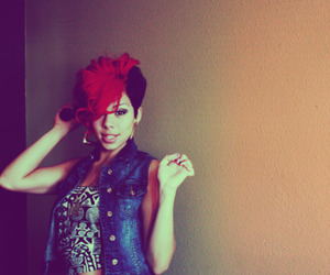 Mohawk and red hair image