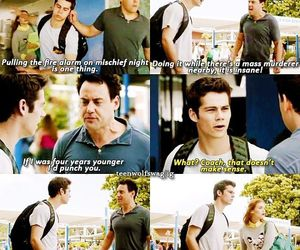 coach, teen wolf, and teenwolf image