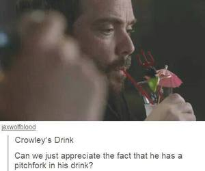 supernatural and crowley image