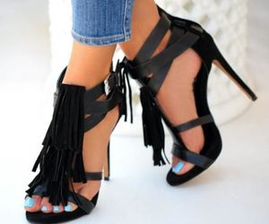 booties, high heels, and shoes image