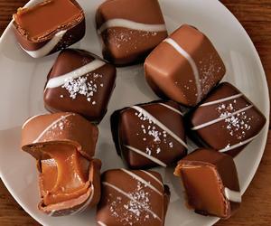 caramel and chocolates image