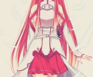 asuna, sword art online, and anime image