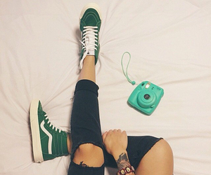 vans and green image