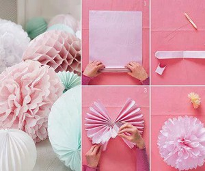 diy, flower, and tutorial image