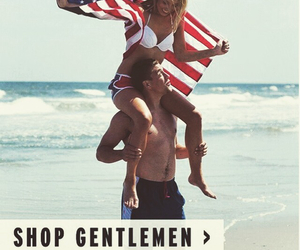 4th of july, american flag, and couple image
