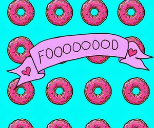 food, wallpaper, and donuts image