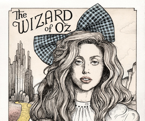 Lady gaga, Wizard of oz, and helen green image