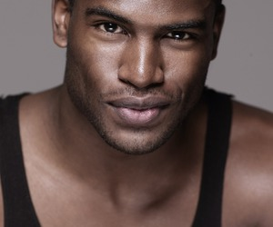 black, handsome, and model image