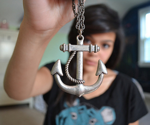 girl, anchor, and photography image