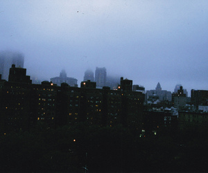 city, grunge, and dark image