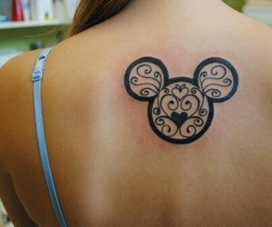 mickey tattoos love image